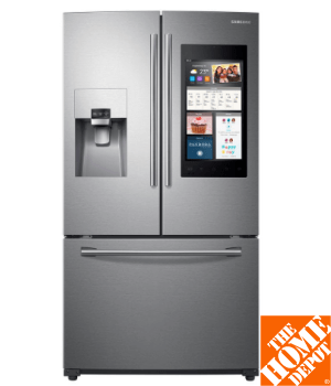 Samsung 24.2 cu. ft. Family Hub French Door Refrigerator in Stainless Steel