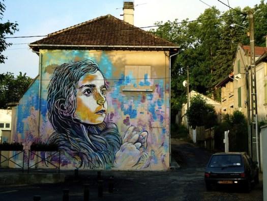c215 nina mural christian guemy street art