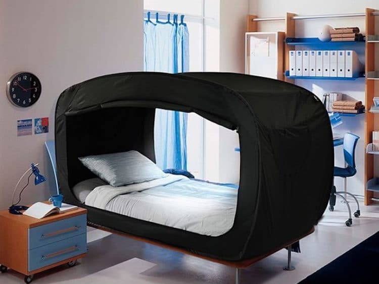 Bed Tent By Privacy Pop Helps You Sleep Soundly When You