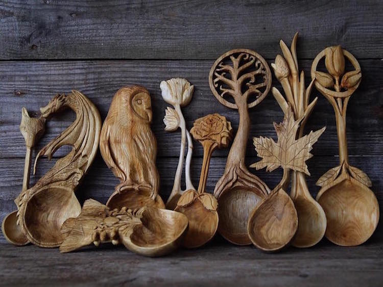 Amazing Wood Art Created By Carving Masters Of Our Time