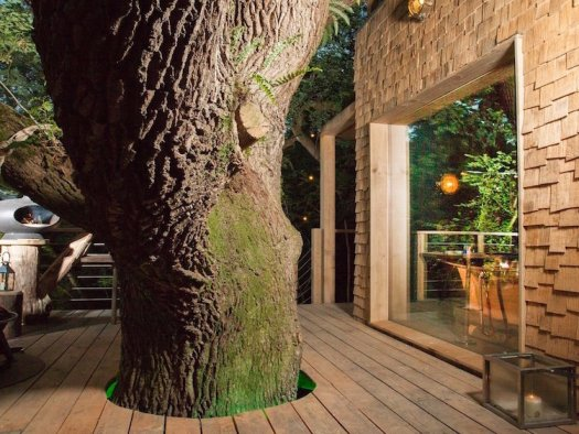 treehouses for grown-ups treehouse travel cabin woodsman treehouse guy mallinson