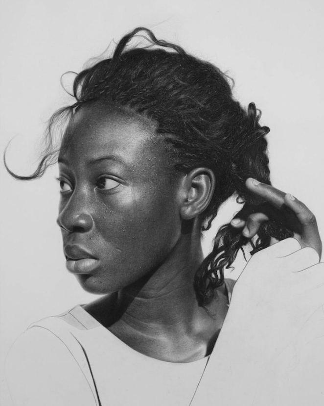 arinze stanely nigerian artist pencil art