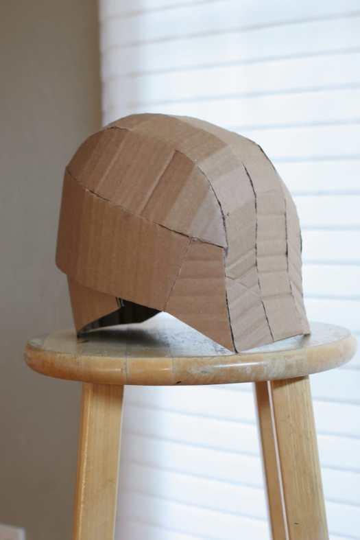 kid's cardboard costume