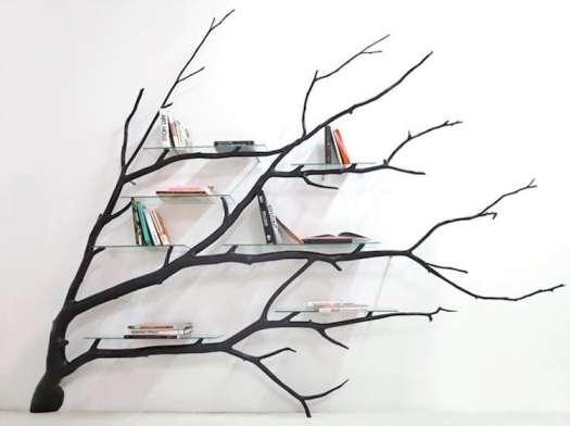 nature-inspired furniture sebastian errazuriz tree bookshelf