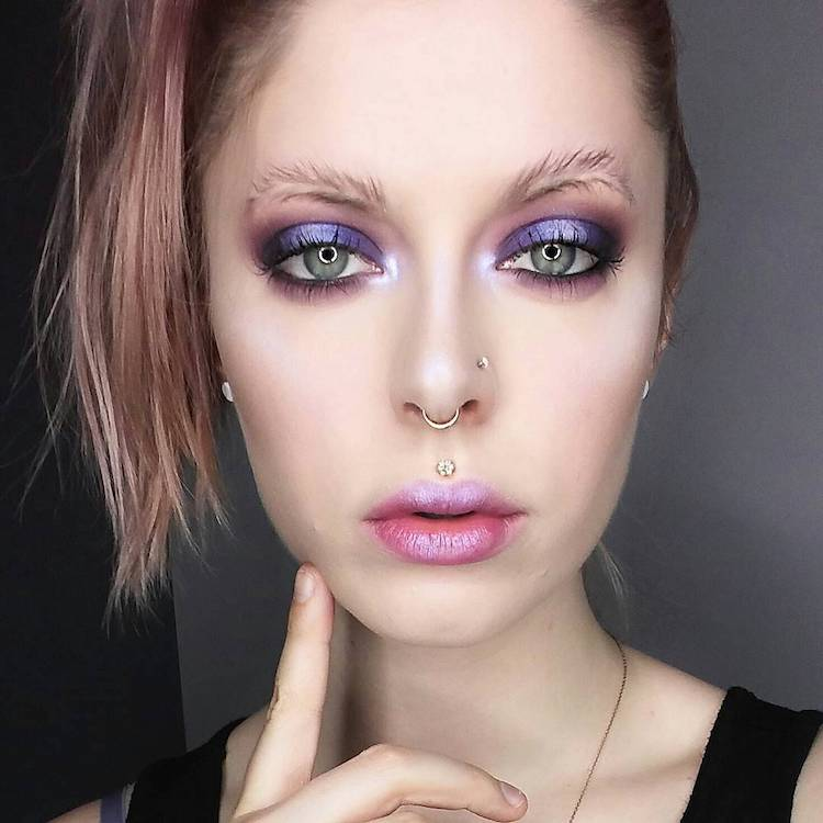 feather brows