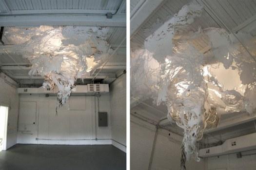 Gyre art installation by Mia Pearlman