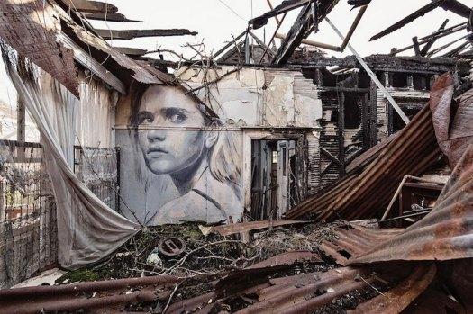 Rone street art australia