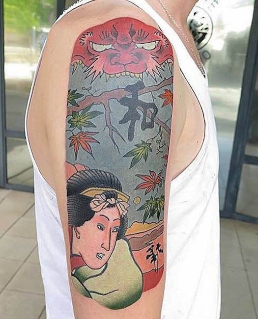 Japanese Tattoo Japanese Style Tattoos Japanese Woodblock Prints Brindi