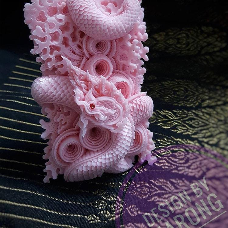 Narong Thai Soap Carving