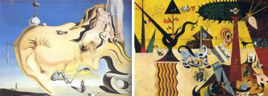painters influenced by garden of earthly delights