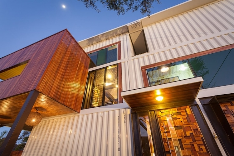 Home Made of Shipping Containers