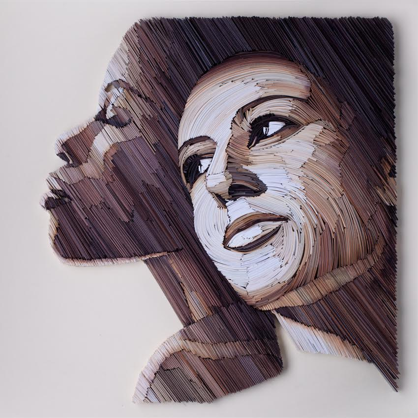 Stunning New Paper Quilling Portraits By Yulia Brodskaya