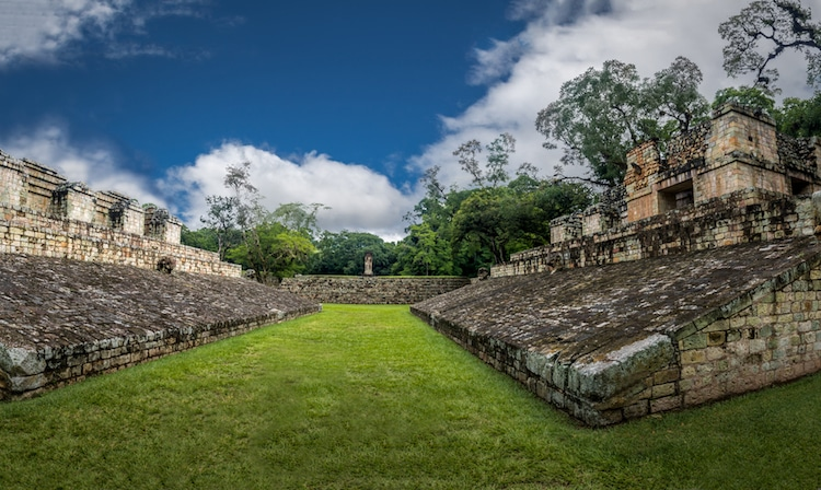 Mesoamerican architecture ballcourt