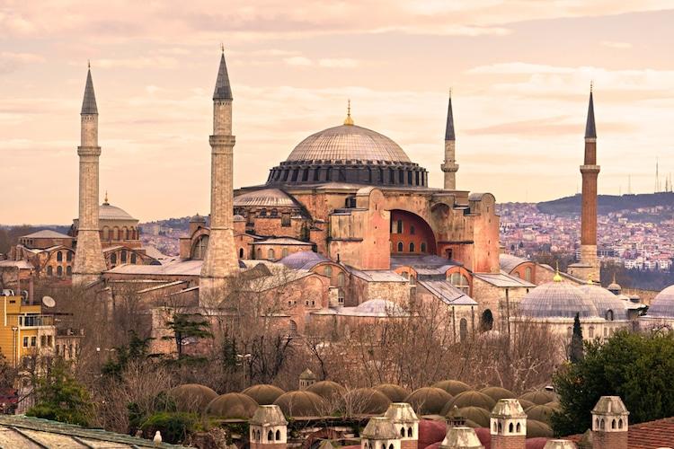 hagia sophia istanbul byzantine architecture