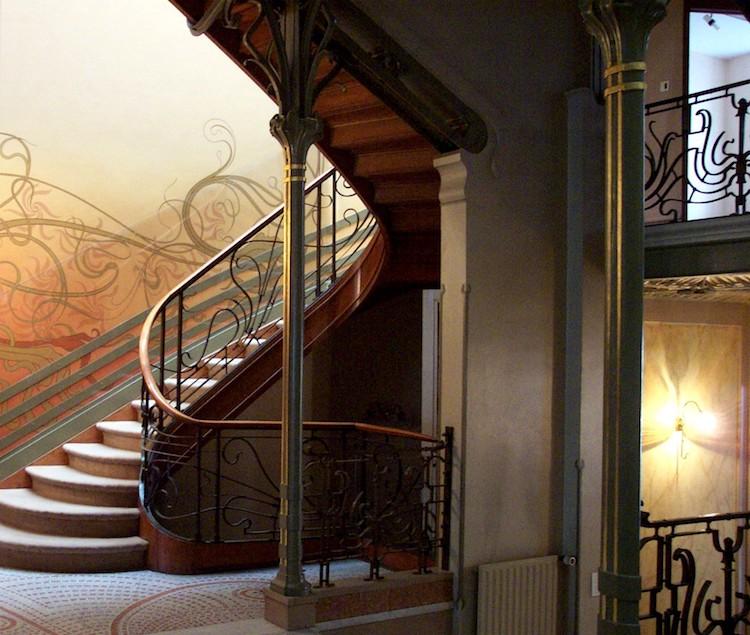 hotel tassel victor horta art nouveau architecture