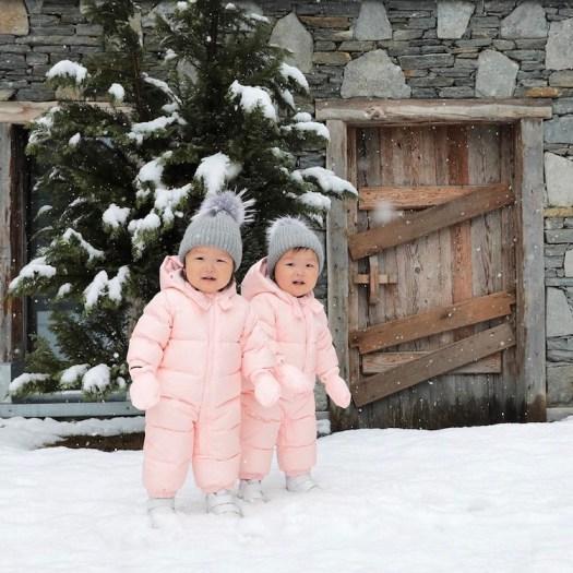 MoMo Twins Preemie Baby Twin Girls Leia and Lauren