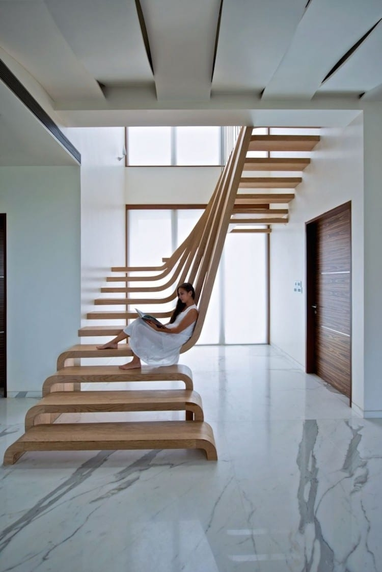 30 Examples Of Modern Stair Design That Are A Step Above The Rest   Best Stairs Design For Home   Spiral Staircase   Architecture   Staircase Remodel   Stairway   Interior Design Ideas