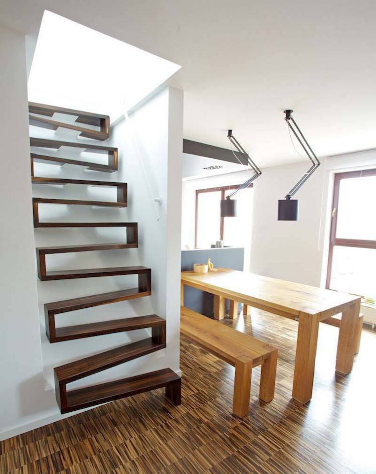 30 Examples Of Modern Stair Design That Are A Step Above The Rest | Designs Of Stairs Inside House | Interior | 2Nd Floor | Duplex | Recent | House Indoor