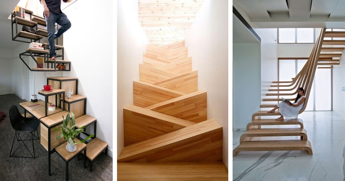 30 Examples Of Modern Stair Design That Are A Step Above The Rest   Staircase Designers Near Me   Baluster   Stair Treads   Staircase Ideas   Metal   Stair Railing