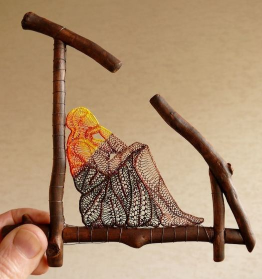 Contemporary Lace Art