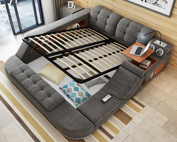 Extra Long Double Bed Frame