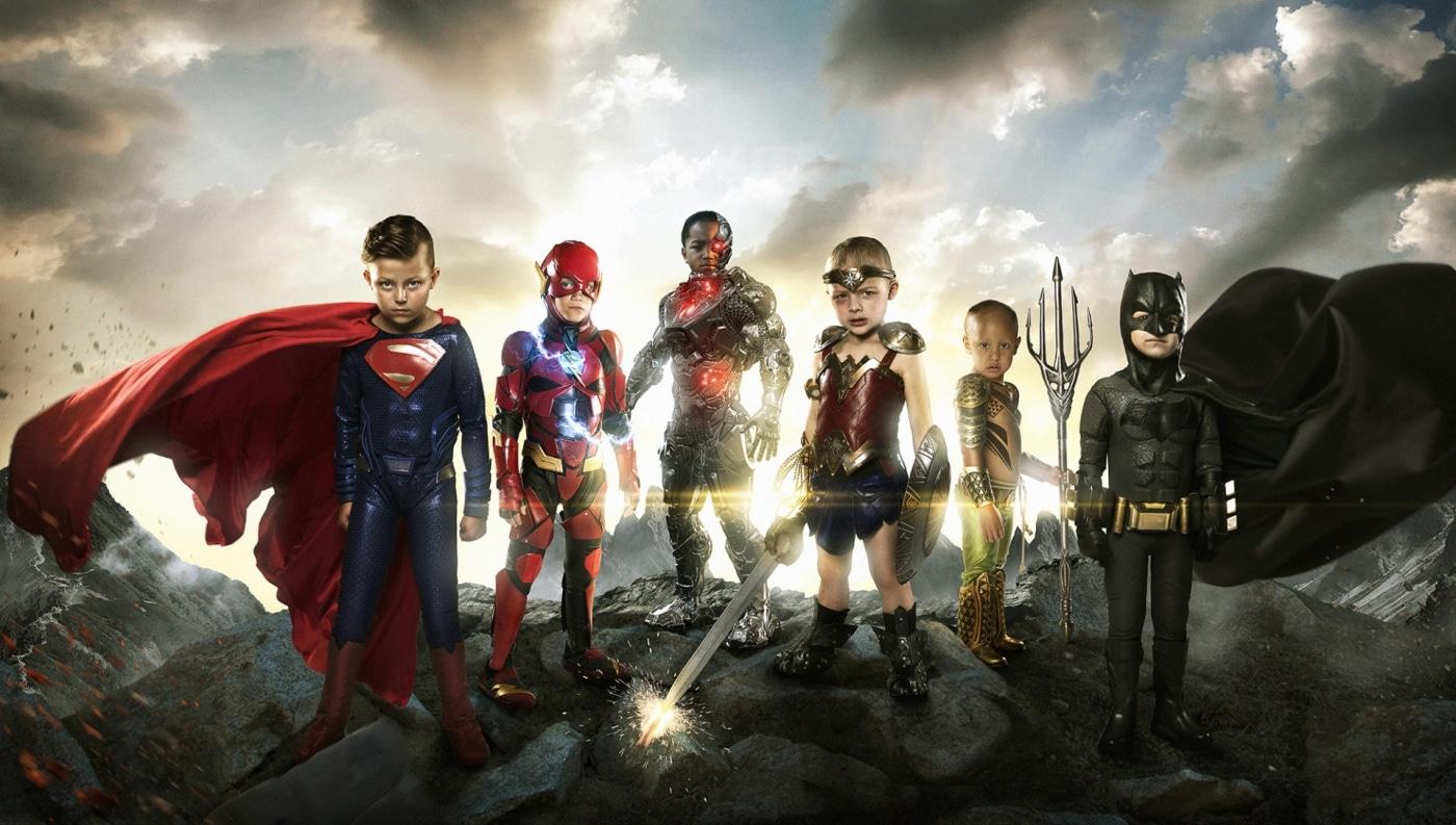 Photographer Transforms Sick Children Into Superhero Kids