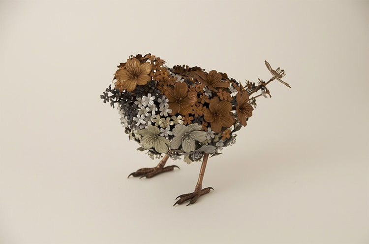 Metal Animal Sculptures by Taiichiro Yoshida