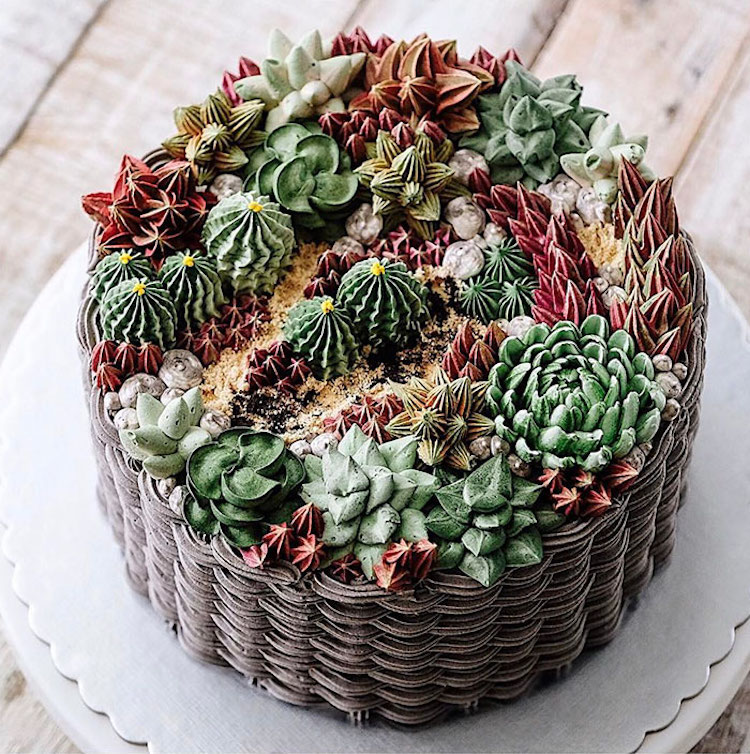 Nature Inspired Cakes Capture The Beauty Of The Earth And