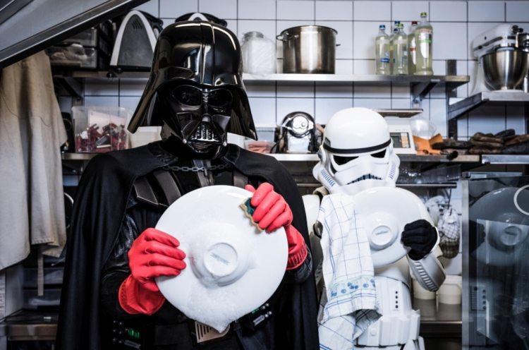 Best Photography of 2017 Best Photos Star Wars Darth Vader Stormtrooper