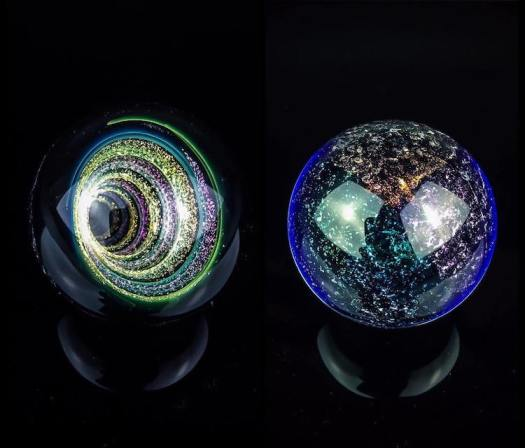 Art Glass Marbles by Smo Glass