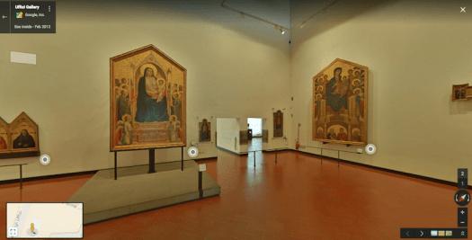 Uffizi Gallery Florence Virtual Tour Virtual Museum Italian Renaissance Art
