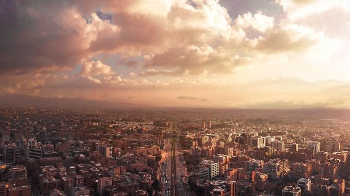 Drone Photograph of Bogota