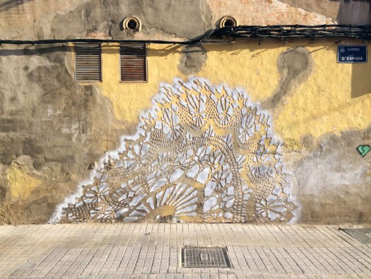 Nespoon female street artist