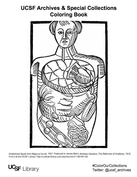 #ColorOurCollections Coloring Book Pages