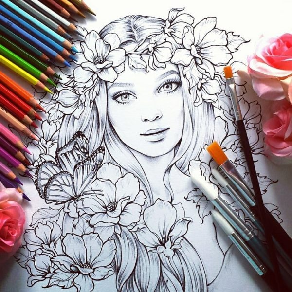 free detailed coloring pages # 49