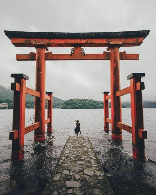 Tori Gate Photograph by Hiro Goto