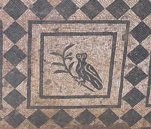 Ancient Roman Floor Mosaic Metro C Archeology