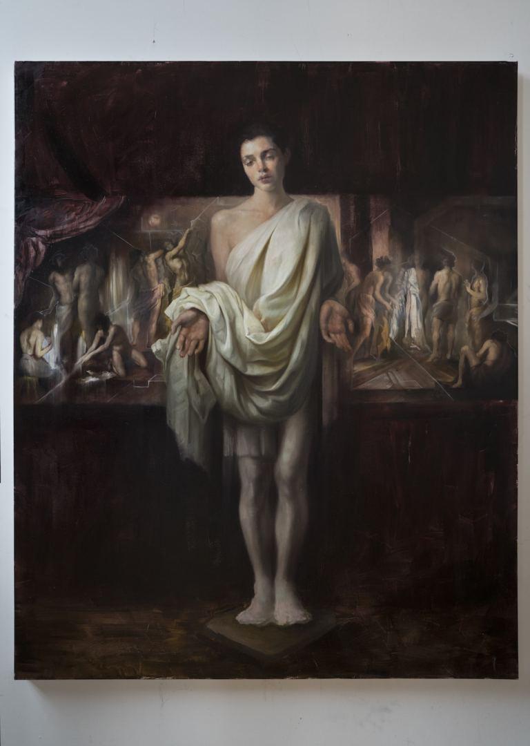 Oil painting by Maria Kreyn