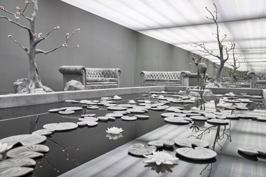 The Garden Room Sculptural Installation by Hans Op de Beeck