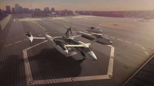 Uber Flying Taxi Concept
