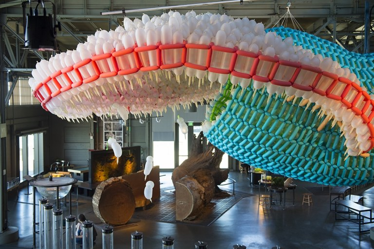 Inflatable Art by Jason Hackenwerth