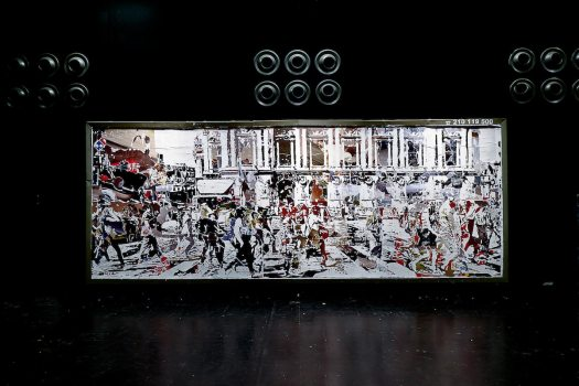 Vhils Exhibition in Paris