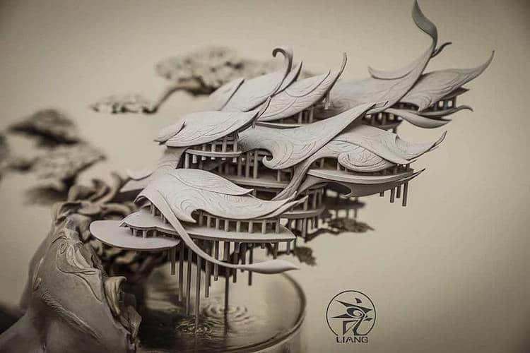 Fantasy Art by Yuanxing Liang