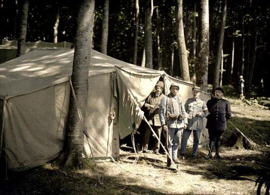 Color Photos World War I