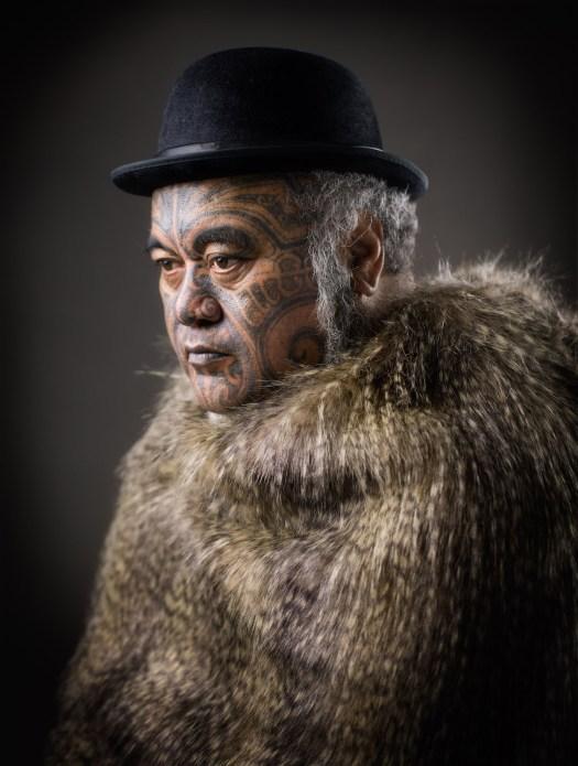 Māori Portrait Photography by Michael Bradley