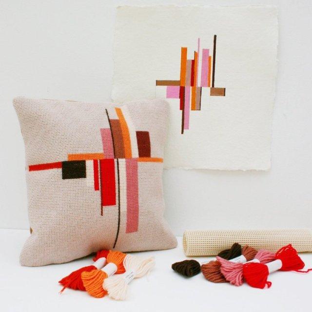 Modern Needlepoint Kit