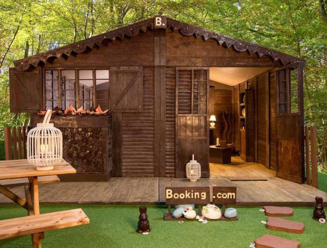 Real Hansel and Gretel Chocolate Cottage by Booking.com