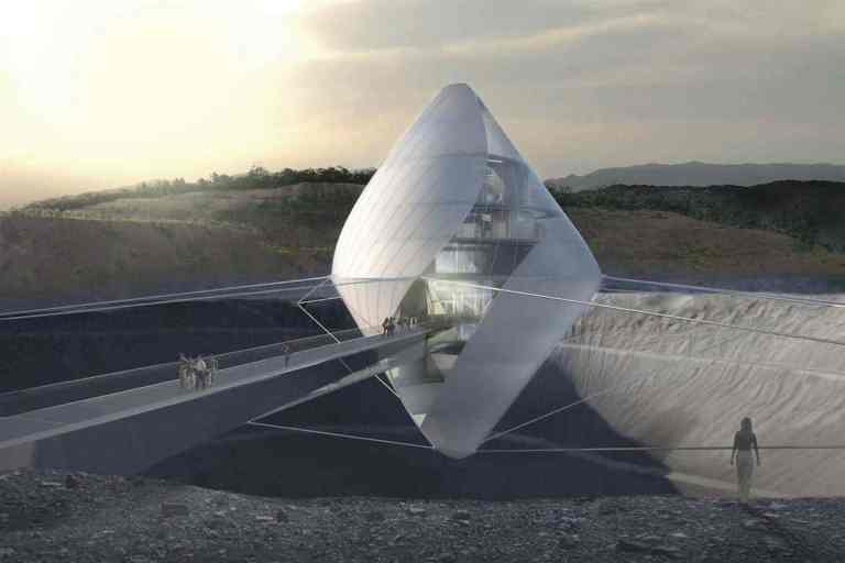 JAXA Avatar X Space Exploration Campus Renders by Cloud Architecture Office