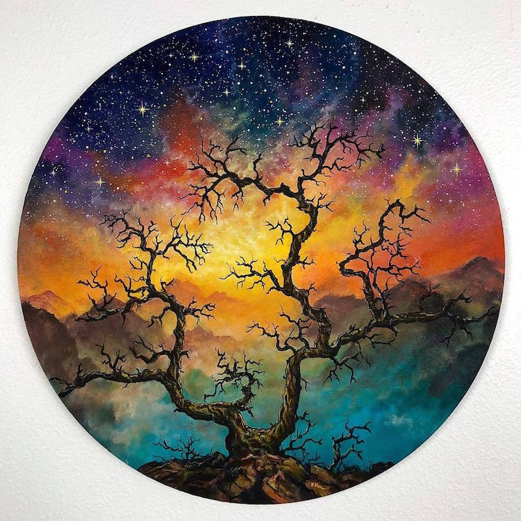Dazzling Vinyl Art Depicts the Vibrant Landscapes of the World