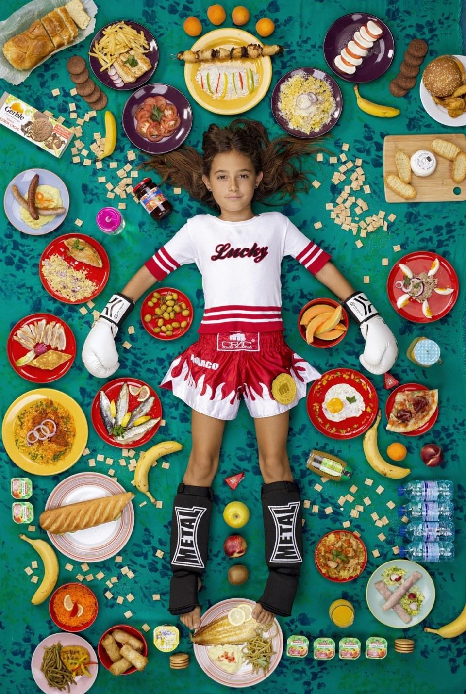 What do kids around the world eat?